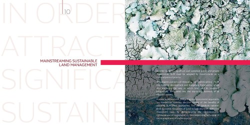 Corporate identity for the Global Mechanism of the UNCCD