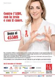 Contro l'Aids, con la testa e con il cuore.