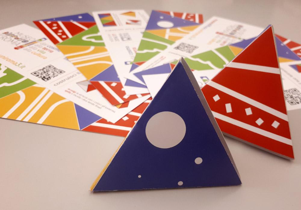 Il segnalibro-tetraedro